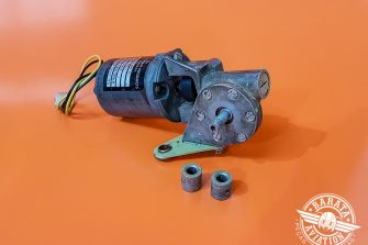 Motor Elétrico do Flap Commercial Aircraft Products 28V P/N D160-00-3