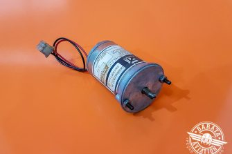 Motor Elétrico do Flap Commercial Aircraft Products 12/14V P/N C145-300