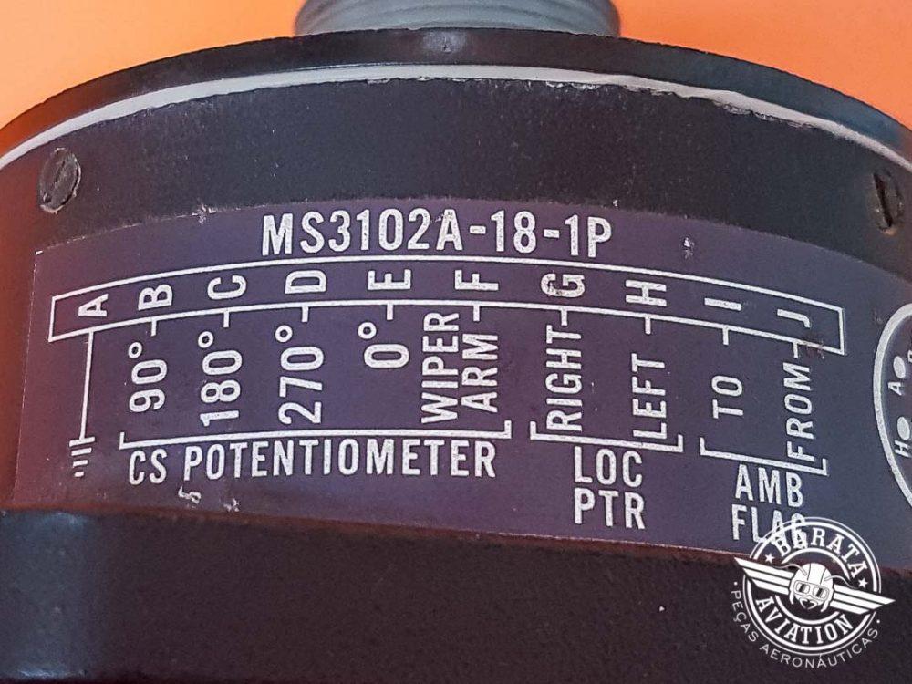 Indicador de VOR ARC IN-514R P/N 31640-0001