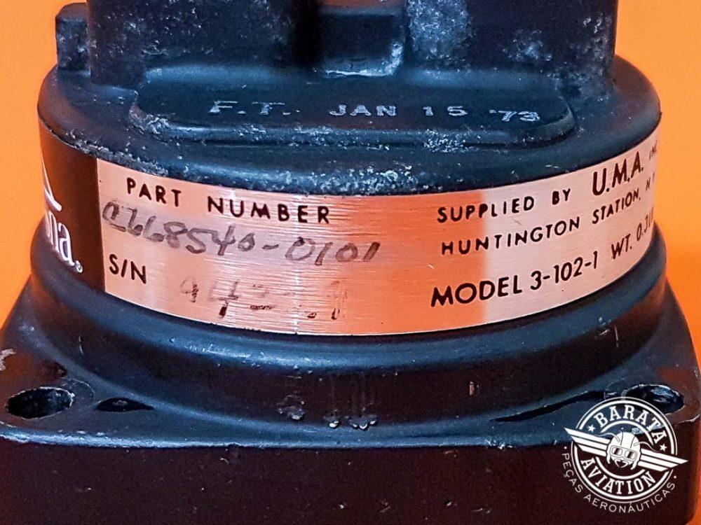 Indicador de Bomba de Vácuo Uma Instruments 3-102-1 P/N C668540-0101