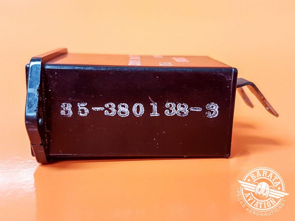 Horímetro Stewart Warner 4/40V P/N 35-380138-3