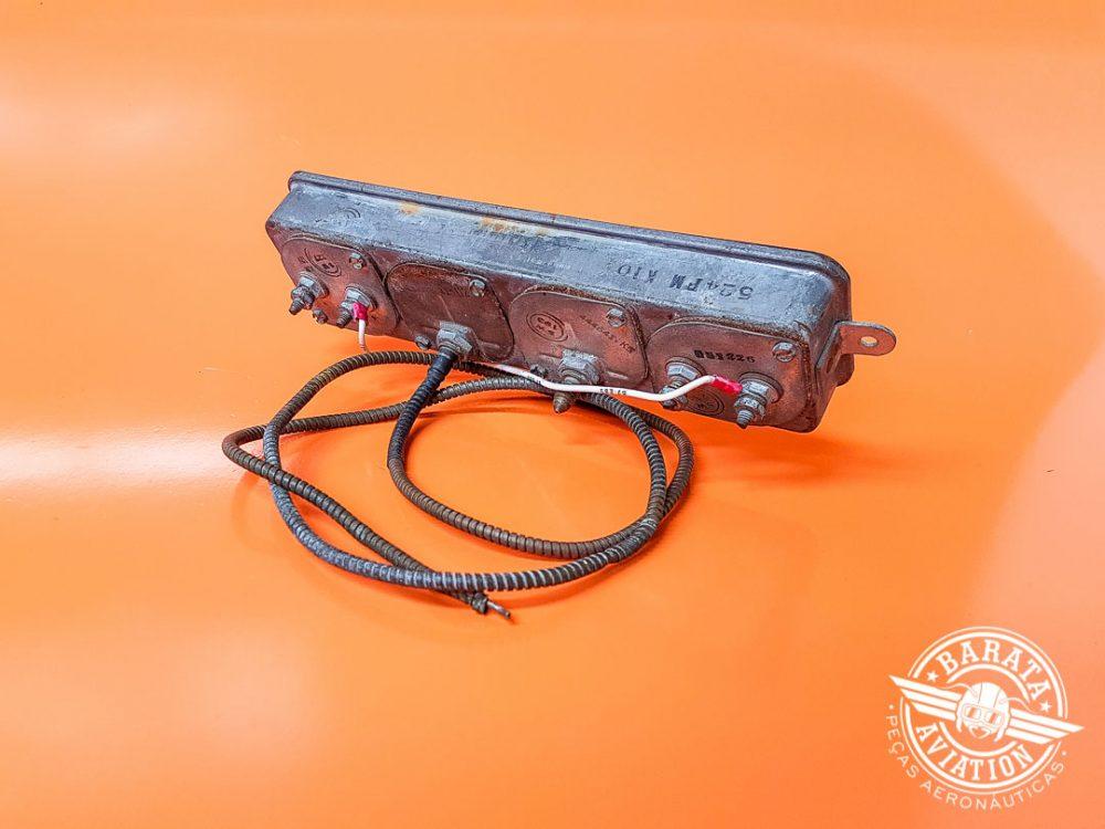 Indicador de Combustível R/H e L/H, Temperatura do Óleo e Pressão do Óleo P/N 0513144-15