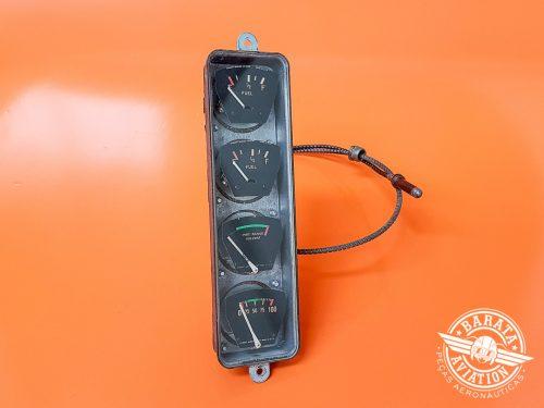 Indicador de Combustível R/H e L/H, Temperatura do Óleo e Pressão do Óleo Stewart Warner P/N 0413378-2