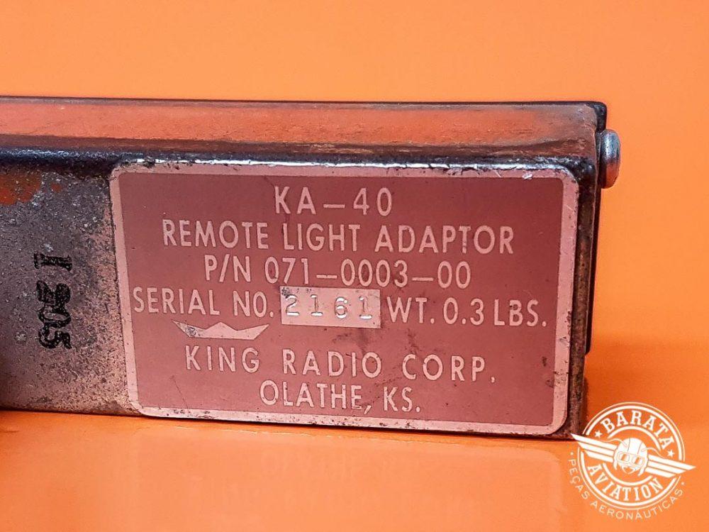 Indicador de Marker Beacon King KA-40 P/N 071-0003-00