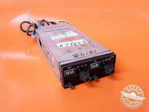Rádio NAV/COMM King KX170B 14V P/N 069-1020-00