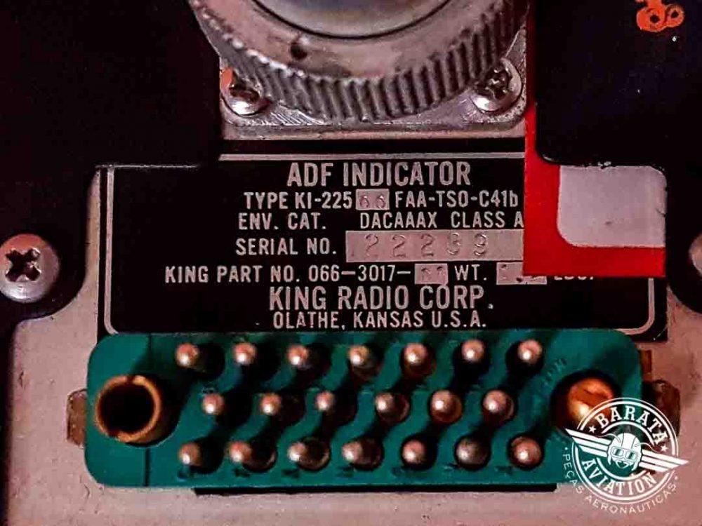 Indicador de ADF King KI-225 P/N 066-3017-00