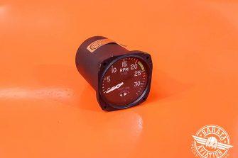 Tacômetro Duplo 3400RPM P/N 512-10