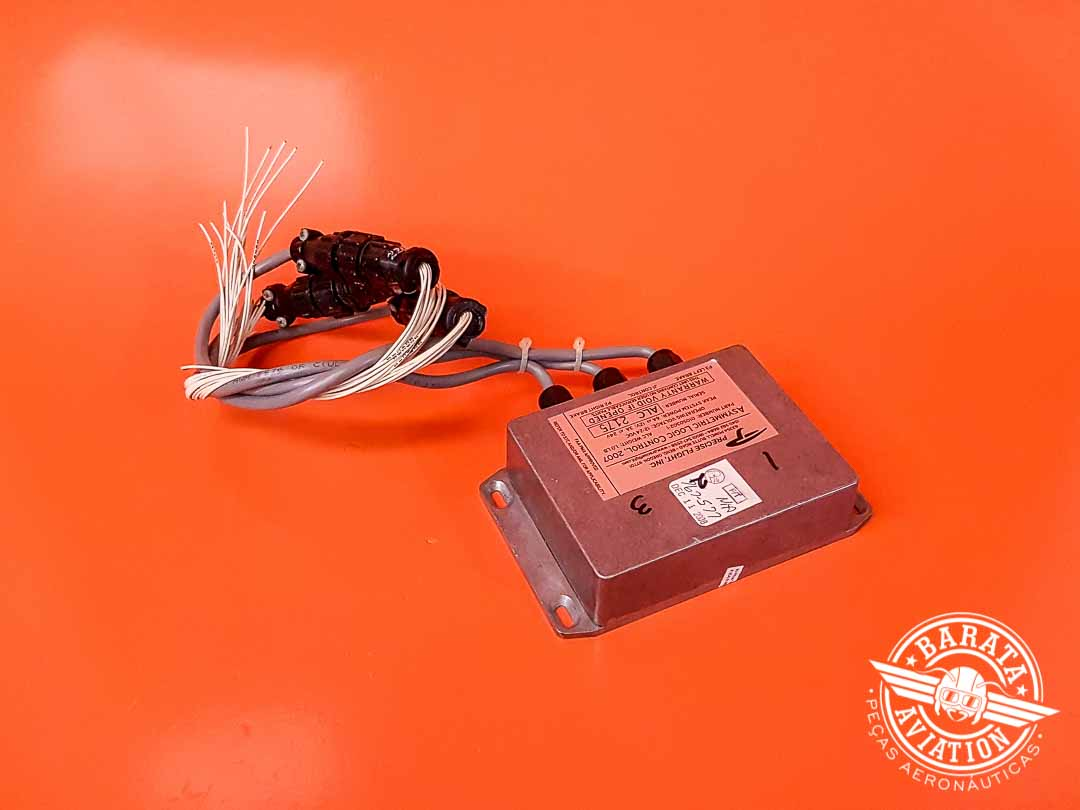 Módulo de Controle Lógico Assimétrico do Speedbrake Precise Flight 12/14V P/N 010S302-1