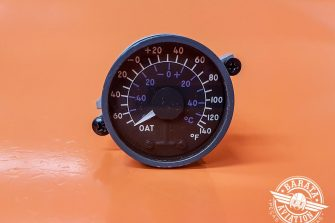 Indicador de Temperatura do Ar Externo Lewis 28V P/N 162BL507A