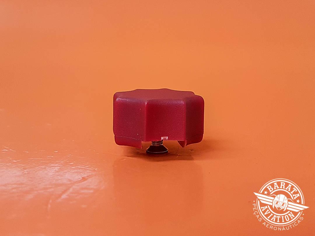 4864243512434 Knob da Manete de Mistura (Puxador Vermelho) P N 24048-000