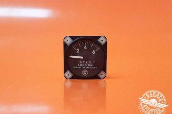 Indicador de Bomba de Vácuo Airbone P/N 1G3-4