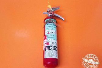 Extintor de Halon P/N GH-2 1/2 J